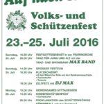 Plakat Schuetzenfest Icker 2016