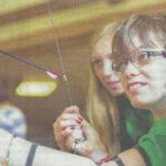 Montessori Schüler bei Schuetzen in Icker